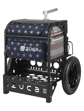 Transit Disc Golf Cart Old Glory/Matte Black
