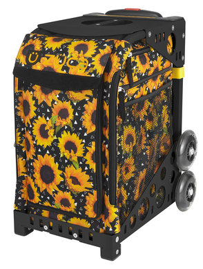 Sunflower Power/Black Frame Non-Flashing Wheels