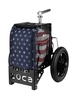 Compact Disc Golf Cart Old Glory