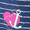 Anchor My Heart (Insert & Name Tag)